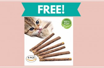 Get a FREE Sample of Silver Vine Cat Sticks!