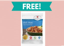 Free  Emergency Food Sample (Chili Macaroni)!