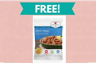 Free  Emergency Food Sample (Chili Macaroni)!
