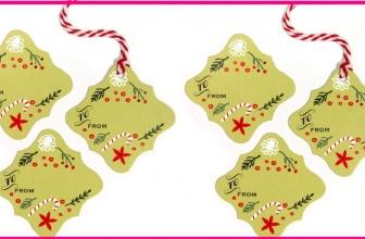 FREE Christmas Tags! So easy !