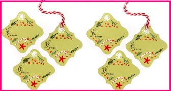 FREE Christmas Tags! So easy !