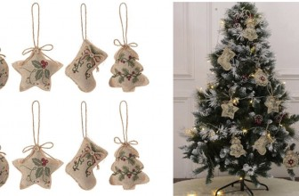 8pcs Christmas Ornaments ONLY $2.00 SHIPPED!