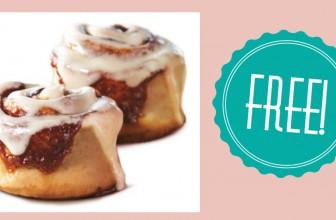 Get a FREE Minibon from Cinnabon!