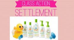Babyganics Class Action Settlement ! No Receipts!