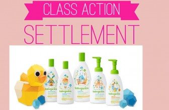 Babyganics Class Action Settlement ! No Receipts!