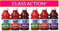 Ocean Spray Class Action Settlement!