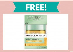 TOTALLY FREE Pure – Clay Mask!
