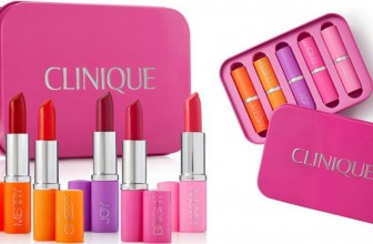 LIMITED TIME! Clinique 5-Pc Pick Your Party Lipstick Set ONLY $18.75! ( Reg. $90! )