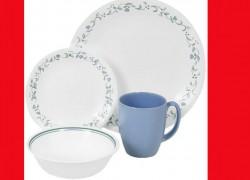 Corelle 16-Pc Dinnerware Set + Free shipping ONLY $16 BUCKS!