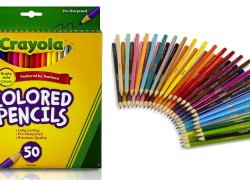 ** HOT !!! ** Crayola Colored Pencils, 50 Count ONLY $3.97 ! Reg. $12.99!