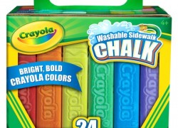 Crayola Sidewalk Chalk, 24-Pack Only $2.49!