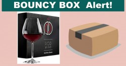 Instant Win Crystal RED Wine Glasses = WORTH $54.99 !