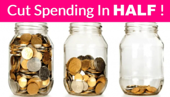 72 Ways To Cut Your Spending in Half . { I've Done Them ALL }.