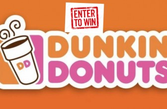 Enter To Win a $100 Dunkin Donuts Gift Card