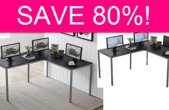 Corner Desk 80% off w/Code!