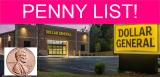 Dollar General Penny List 10/19