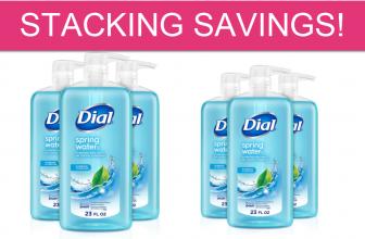 STACKING SAVINGS – CHEAP Dial Body Wash!