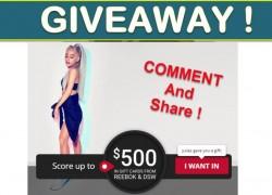 [26 WINNERS] DSW & Reebok Quikly Giveaway