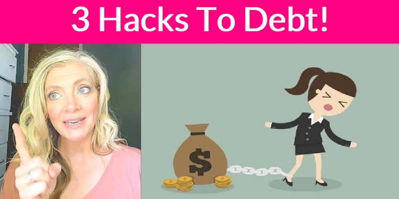 3 Genius HACKS to Paying Off Debt! { I Used Em' ALL ! }