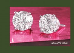 Enter to Win a Pair of Diamond Earrings! [ Worth $2995 ]