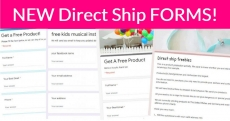 4 New DIRECT SHIP Forms!