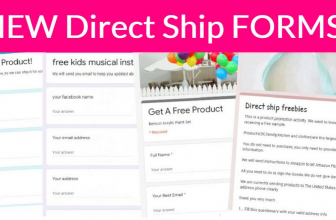 RUN! 🏃 3 NEWEST Direct Ship Forms!