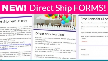 5 NEW Direct Ship Forms! OMG!