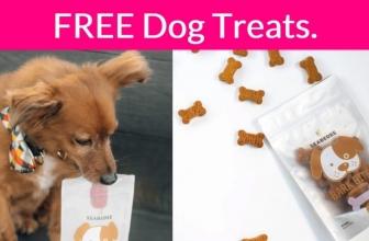 FREE Dog Treats! 1 Easy Form. SO EASY!
