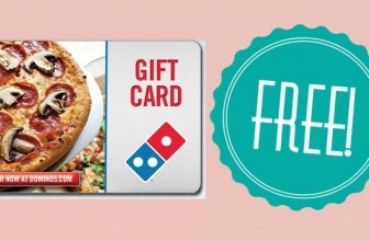 Possible FREE Domino's Pizza Gift Card