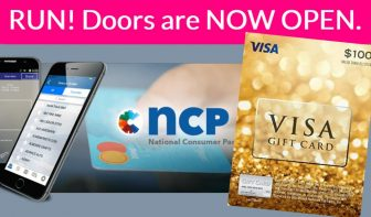 Easy FREE Visa Gift Card! National Consumer Panel !