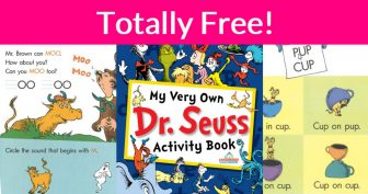 Totally FREE 20 Page Dr. Seuss Activity Book!