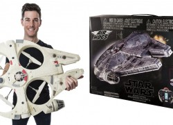 SUPER HOT PRICE! Star Wars Flying Drone $37 Shipped!  ( Reg. $200! )