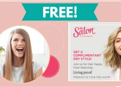 Get a FREE Dry Style and More at Ulta!