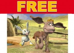 FREE 3-D Animated Tales of Donkey Ollie DVDs