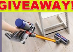 Pet hair out of control? Win a Dyson V8 Pet Vaccum!