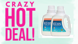 ECOS Liquid Laundry Detergent ONLY $5.00 !!!! ONLY $0.10 Cents a LOAD!