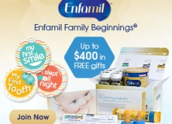 Get Up to $400 in Free Gifts From Enfamil