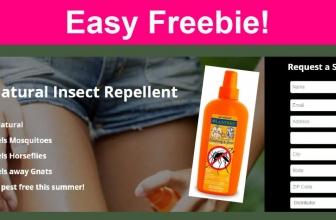 Easy FREEBIE!  FREE Lander's All Natural Bug Repellent!