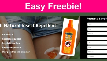 Easy FREEBIE!  FREE Lander's All Natural Bug Repellent!