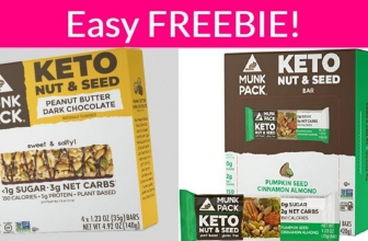 Super Easy FREE Muck Pack Keto Nut & Seed Bar!