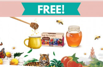 Easy ! Free Sample of Celestial Seasonings® Tea !