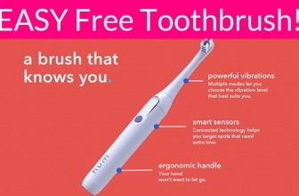 EASY! FREE Electric Toothbrush!