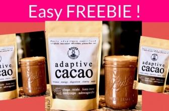 Super Easy Freebie of adaptive cacao!