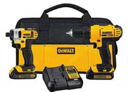 Enter The DEWALT 20v Lithium Drill Driver Combo Kit Giveaway