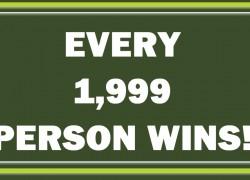 [ EVERY 1,998th WINS! ] 8-Piece Cafe Mug Set!