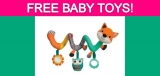 Free Infantino Wee Wild Ones Toys!