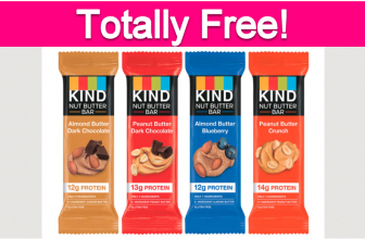 FREE Kind Bar for the 1st 10,000 ! HURRY!