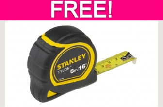 Possible Free Tape Measure!
