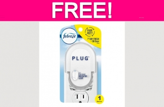 Totally Free Febreze Plug-in!