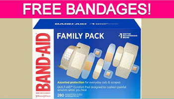 Free Bandages for Children's Hospital Week!